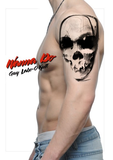 "Wanna Do ""Crâne abstrait II"" - Guy Labo-O-Kult"