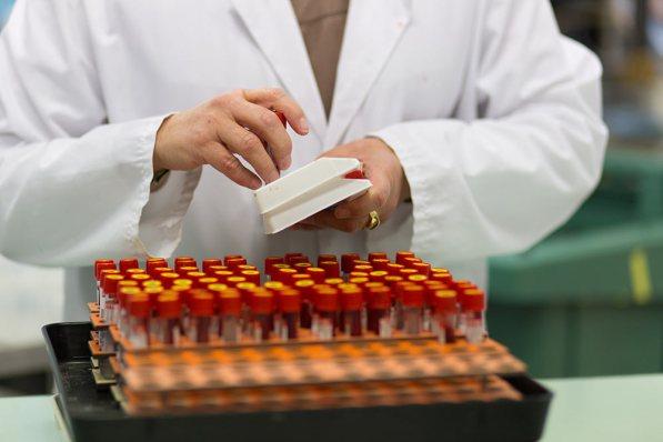 Tubes de sang pour immunologie