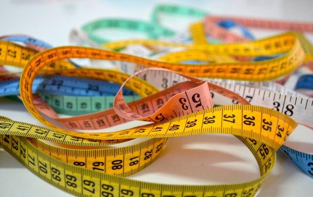 cintas métricas para modisteria