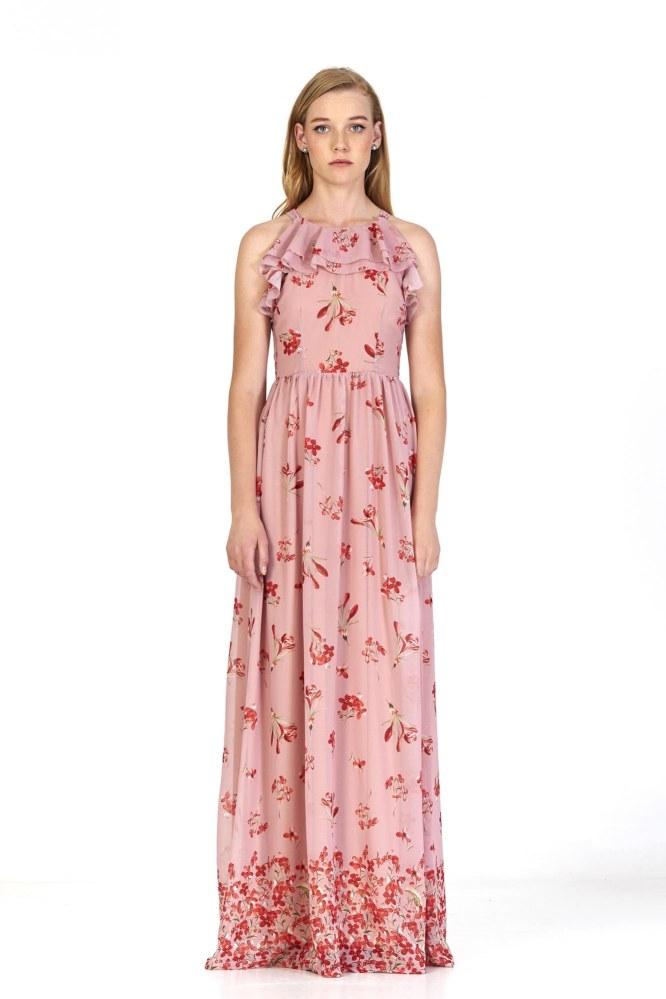 Vestido Ariadne Rosa Marú Atelier