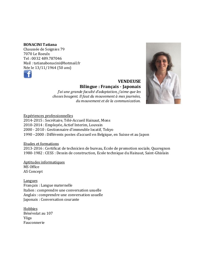 exemple cv armurier