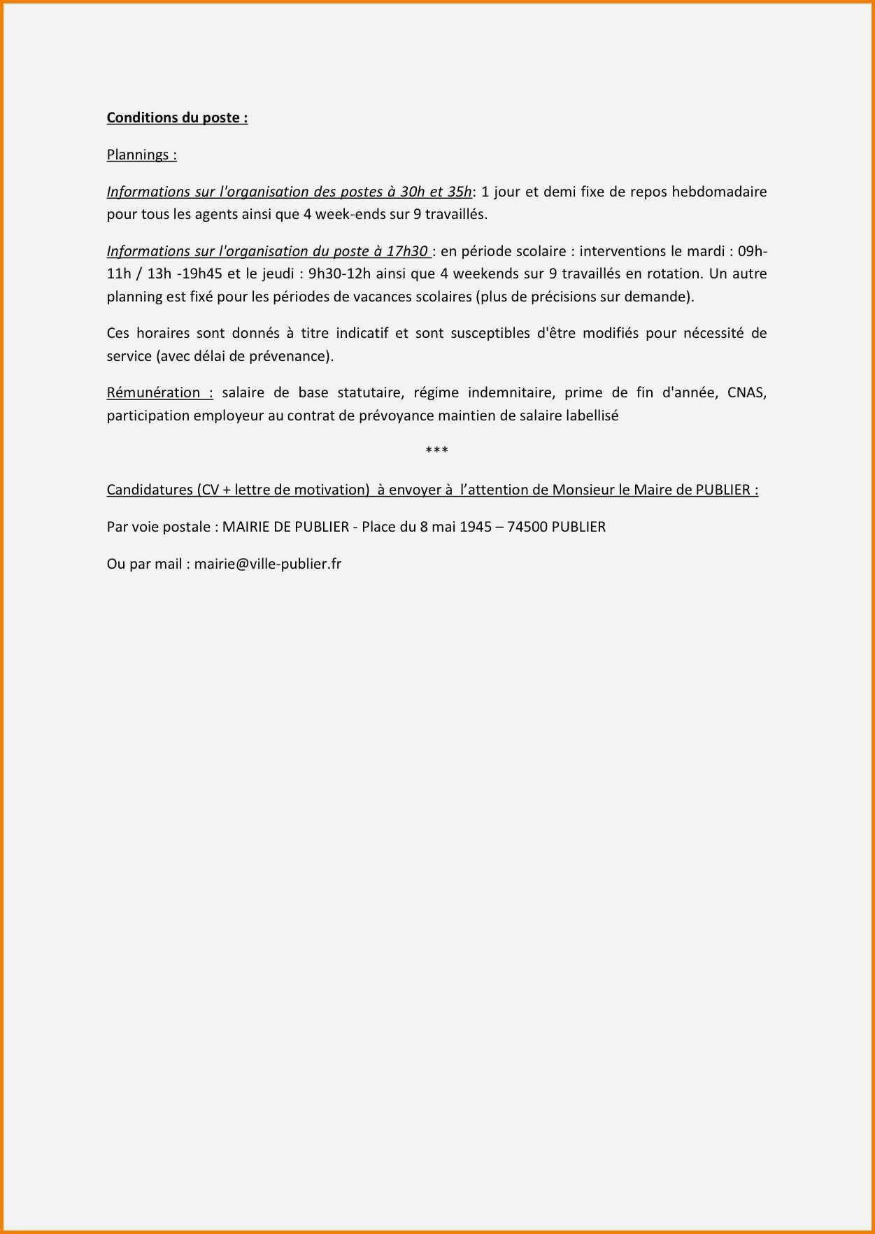 lettre de motivation et cv pour apb
