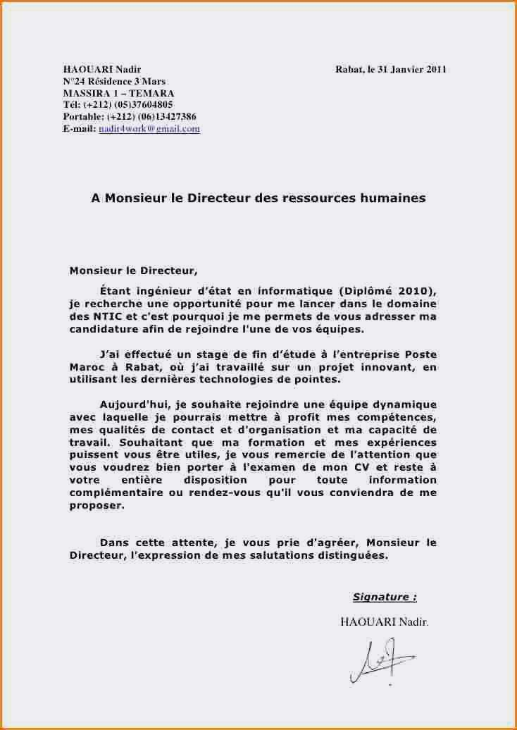 cv exemple stage mairie
