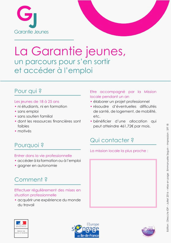 lettre de motivation pour la mission locale