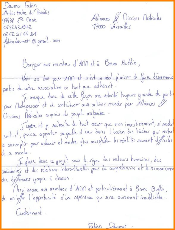 image lettre de motivation educateur sportif lettre de presentation