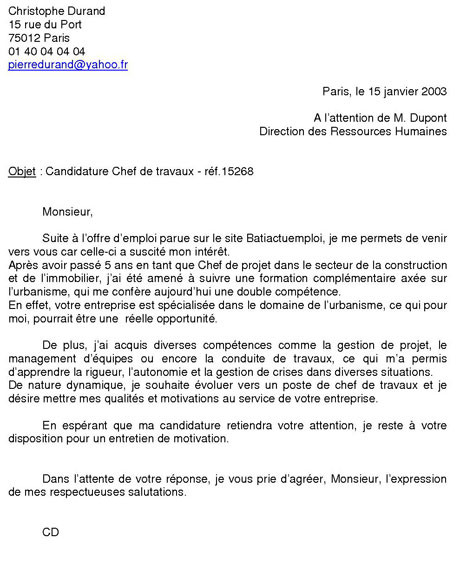 photo exemple de lettre de motivation assistante administrative modele lettre