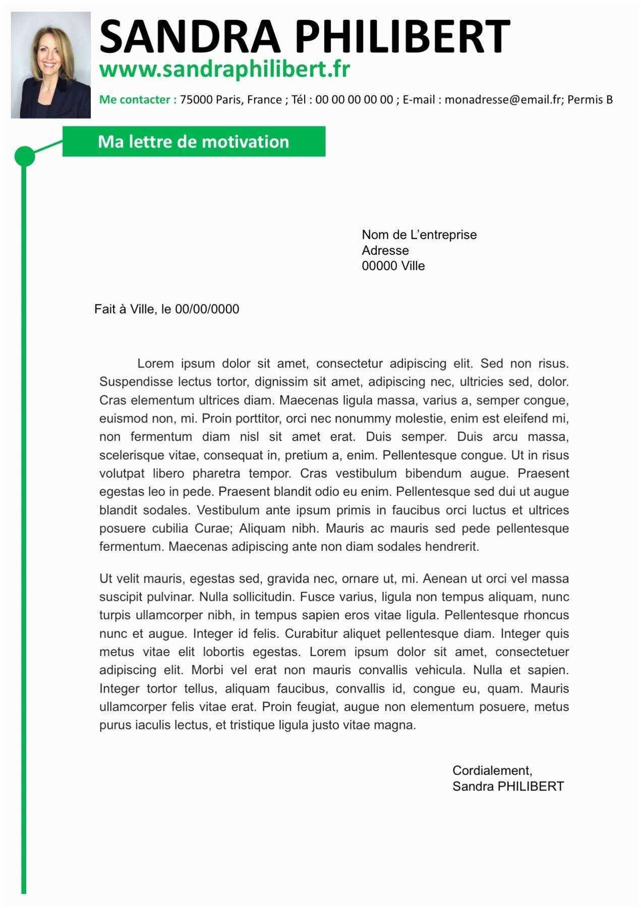 image lettre de motivation secretaire administrative dans une ecole lettre de presentation