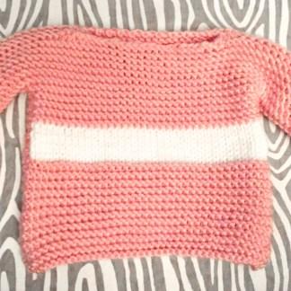 patron-chandail-rose-et-blanc-bebe-6-12-mois-de-la-boite-ateliers-creatifs copy