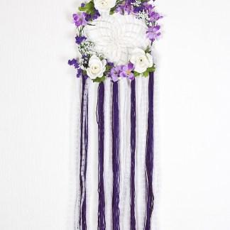 capteur-de-rêves-floral-mauve-et-dentelle-blanche-7714