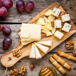 beau plateau de fromage