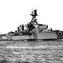 Le Dazzle camouflage, les bateaux furtifs de la première guerre mondiale