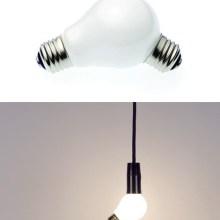 Ampoule à deux vis