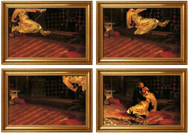 avant apres peinture explique 04 L'avant et l'après de peintures connues