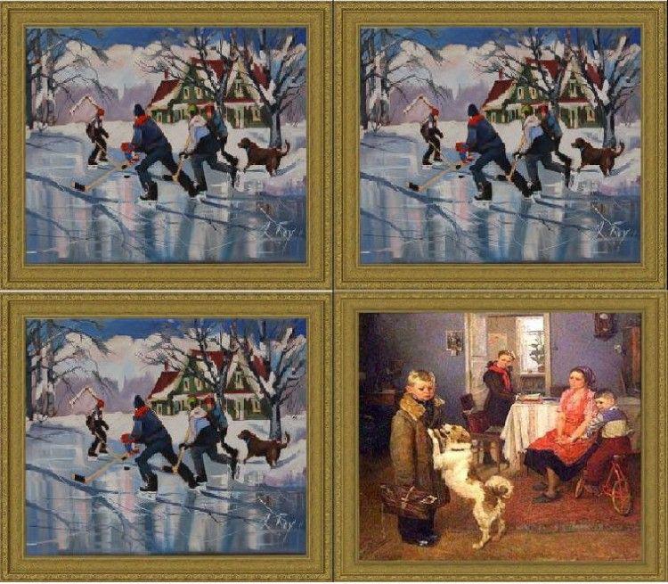 avant apres peinture explique 07 L'avant et l'après de peintures connues