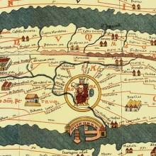 La carte romaine de toutes les routes qui mènent à Rome