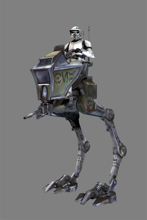 Différents types de StormTroopers