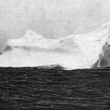 L'iceberg qui a coulé le Titanic