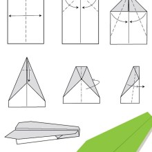 12 instructions pour plier des avions en papier originaux