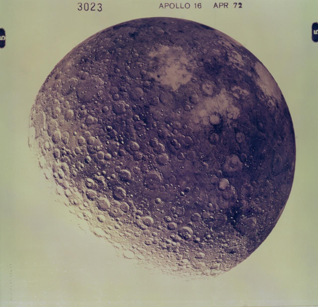 lune apollo 16 Histoire photographique de la Lune
