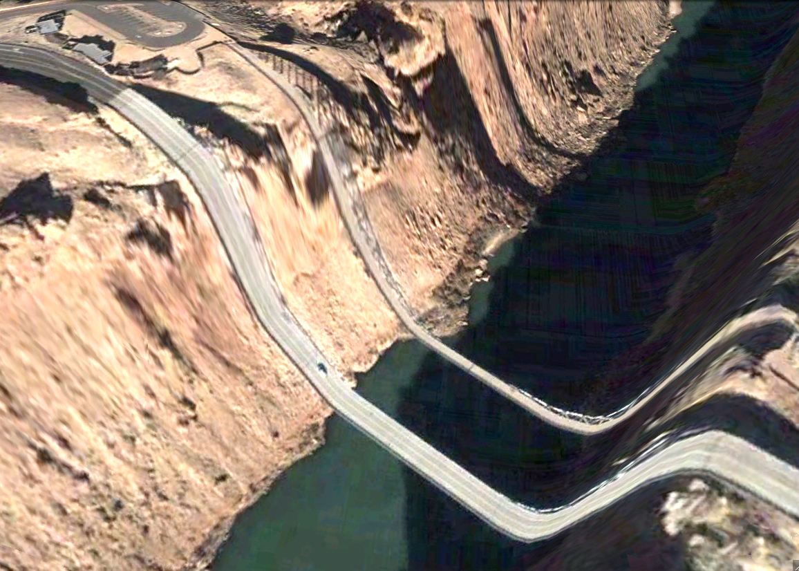pont route google earth altitude relief 3d 10 Les ponts de Google Earth