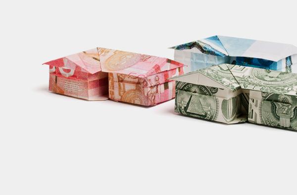 origami billet banque 04 Origamis en billets