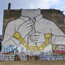 Les peintures murales de BLU