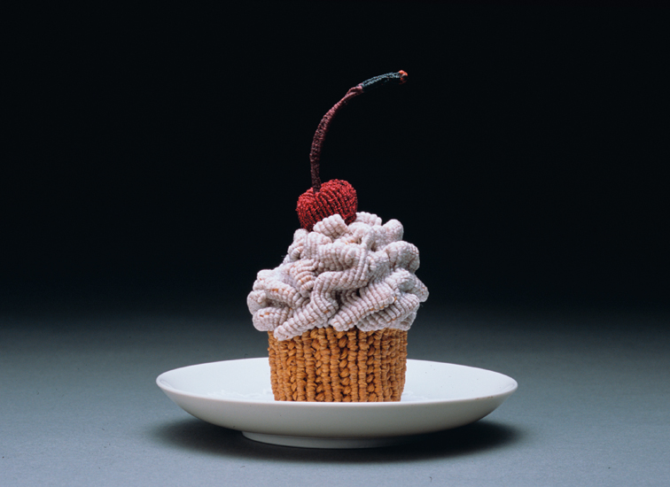 gateau nourriture aliment laine tricot 07 De la nourriture tricotée