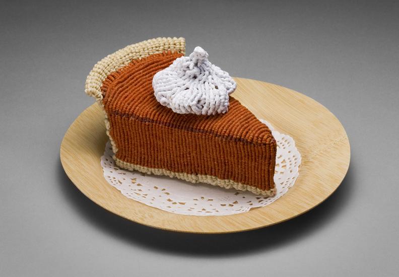 gateau nourriture aliment laine tricot 08 De la nourriture tricotée
