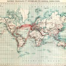 Les câbles sous-marins de 1900 à nos jours