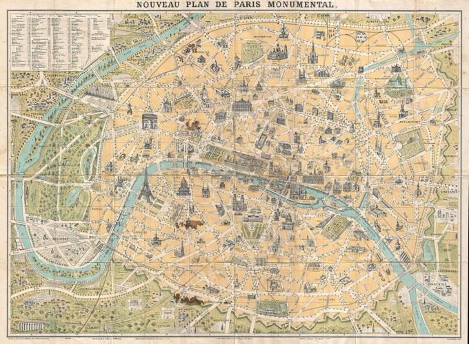 Lhistoire de Paris par ses plans