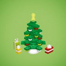 Fabriquez vos décorations de Noël en Lego