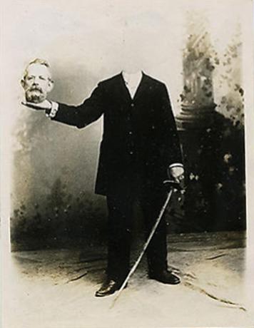 vieux portrait sans tete decapite 14 Des vieux portraits de gens décapités
