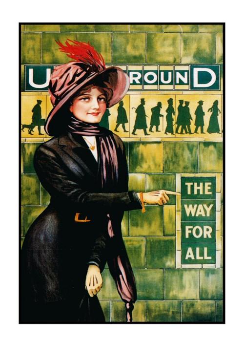 londres london metro undergroud affiche poster 15 500x700 150 ans daffiches du métro de Londres  histoire design bonus art