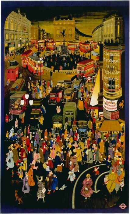 londres london metro undergroud affiche poster 21 427x700 150 ans daffiches du métro de Londres  histoire design bonus art