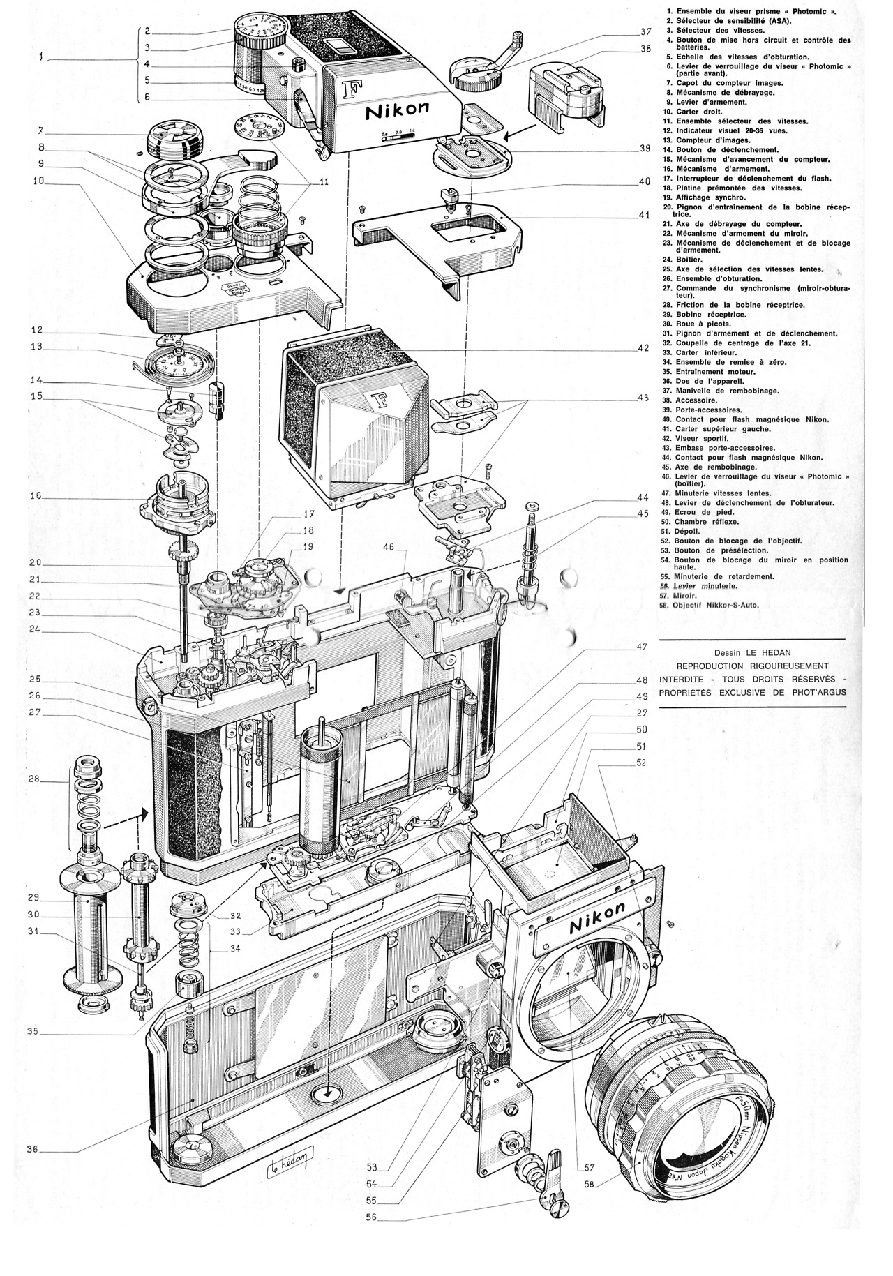 Nikon Camera Parts Diagram Nikon Camera Operation