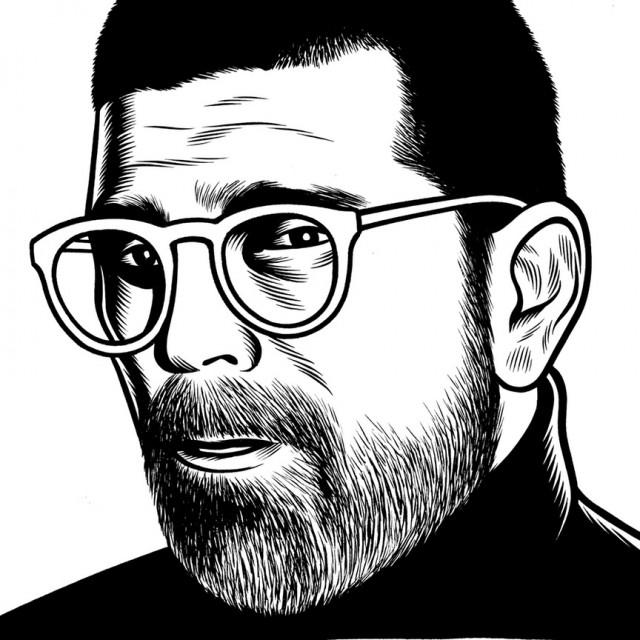 des portraits illustres en noir et blanc