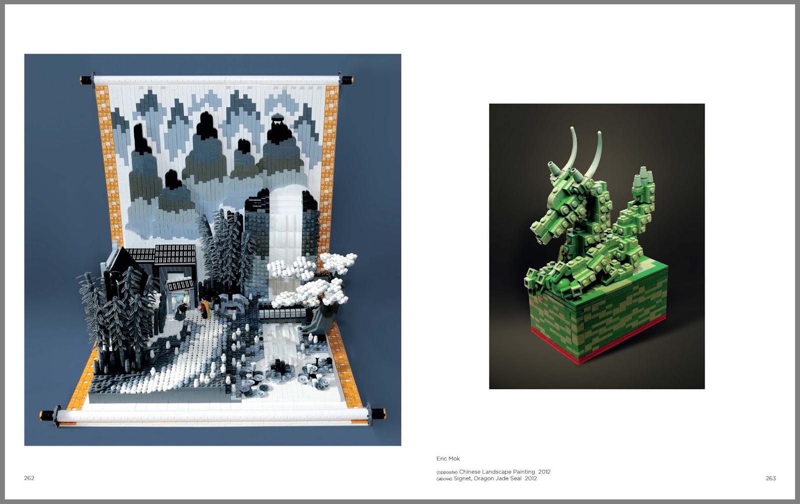 Les plus belles crations en Lego dans un livre