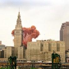 1,5 millions de ballons dans le ciel de Cleveland en 1986