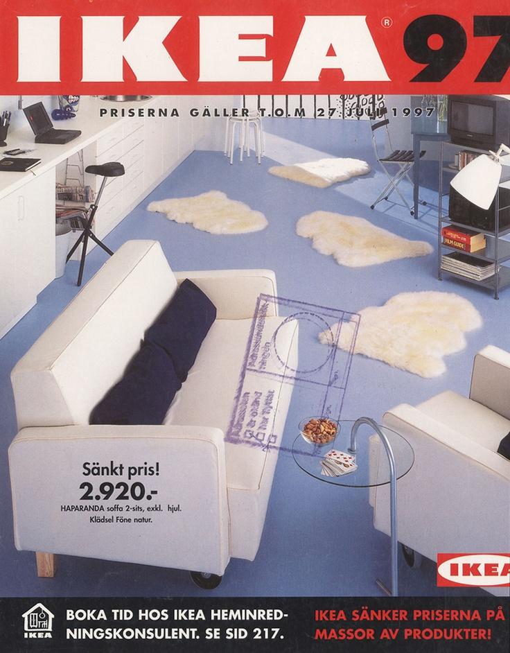 ikea 1997 catalogue couverture la
