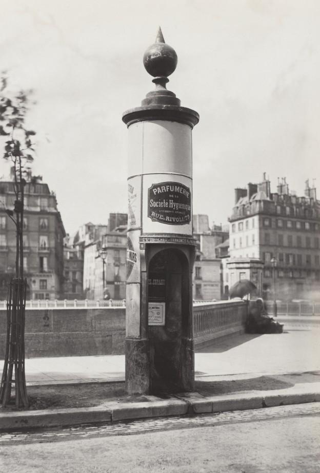 04 Charles Marville Urinoir à 1 stalle maconnerie Cie Drouart Boulevarts Intérieurs ca. 1865 624x920 Les urinoirs publics de Paris en 1865 par Charles Marville