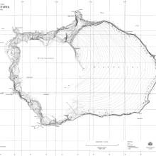 Deux cartes de l'île de Bouvet