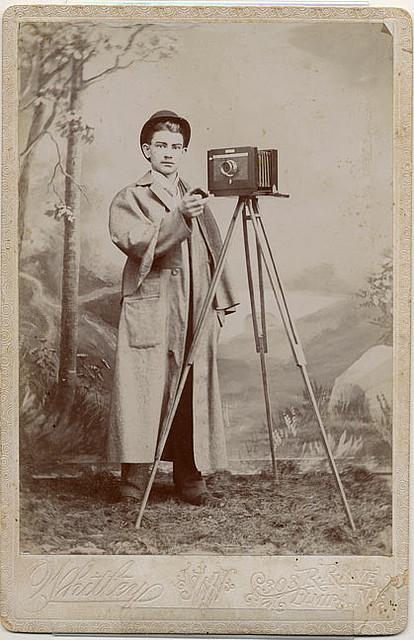 Des photographes  lancienne