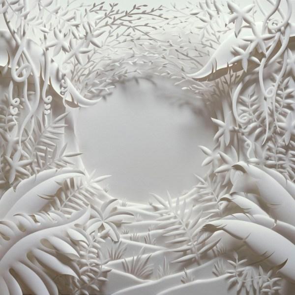 Des Bas-reliefs De Papier Blanc