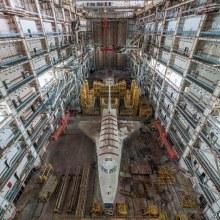 Les navettes spatiales russes abandonnées à Baïkonour