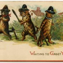 L'humour noir et étrange des cartes de vœux victoriennes