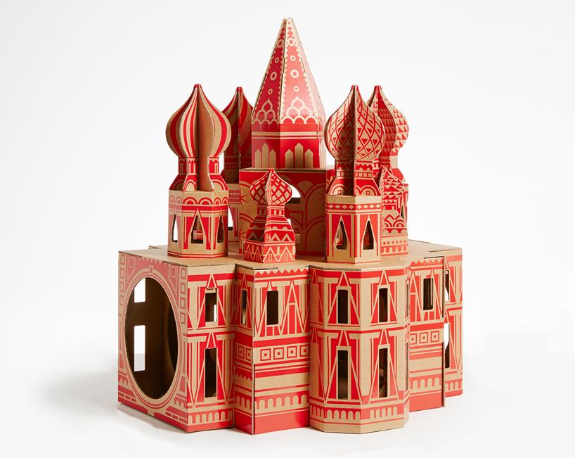 flatpack-cardboard-cat-houses-architectural-landmarks-designboom-01
