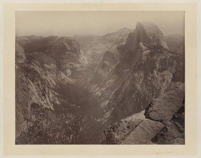 01-Carleton-Watkins-Half-Dome-Yosemite-Valley-Calif-1860