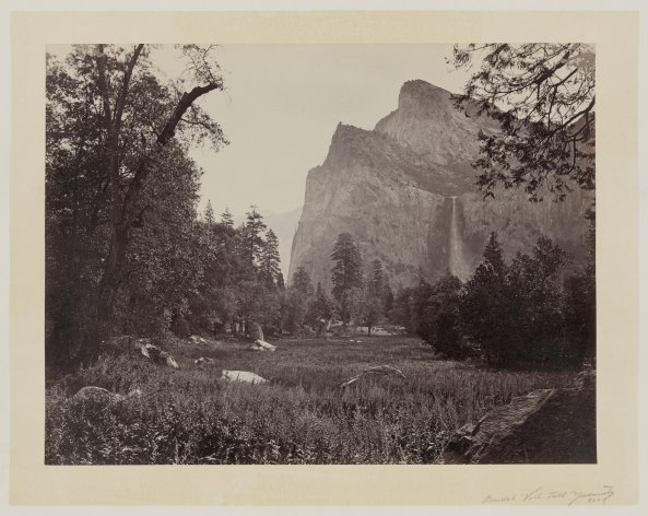 04-Carleton-Watkins-Bridal-Veil-Fall-Yosemite-Valley-Calif-1860
