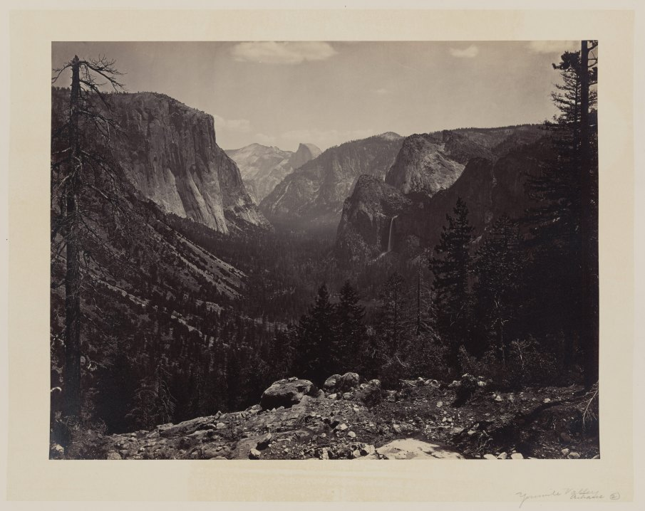 08-Carleton-Watkins-Entrance-to-Yosemite-Valley-Calif-1860