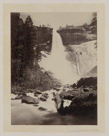 12-Carleton-Watkins-Nevada-Fall-Yosemite-Valley-1860